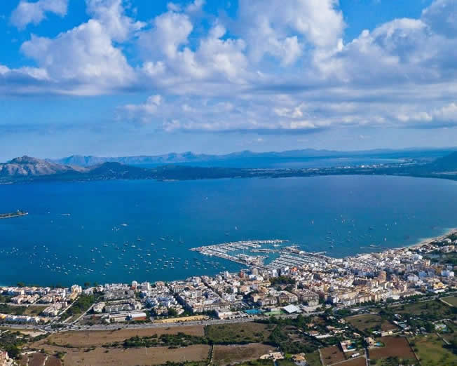 Transfer from Palma airport to Puerto Pollensa