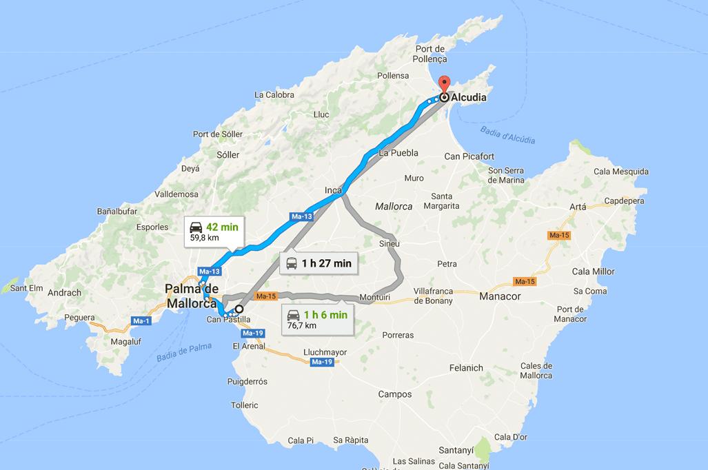 Transfer Mallorca airport Alcudia