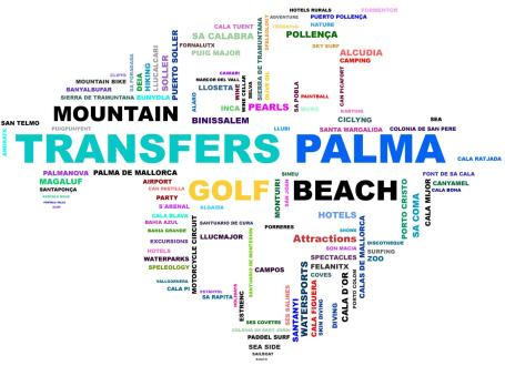 Transfers from Palma airport to Ca'n Picafort